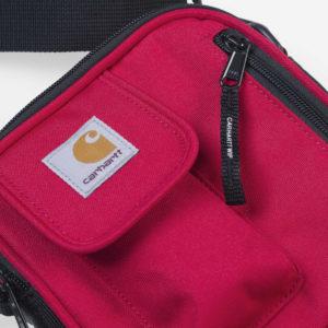 eine kleine Smartphone und Münz- und Geldscheintasche mit Zipper auf der Vorderseite