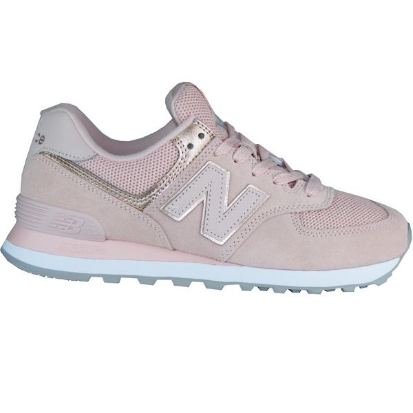 New Balance WL574 MEC Sport Damen Schuhe rosa