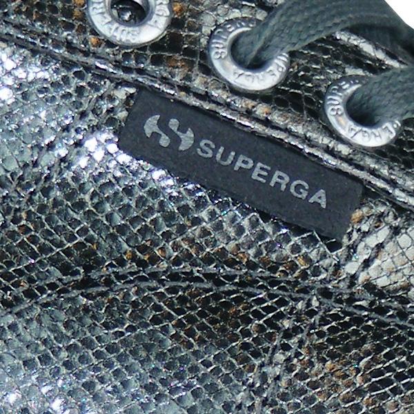 Obermaterial in aufwendiger Reptil Optik