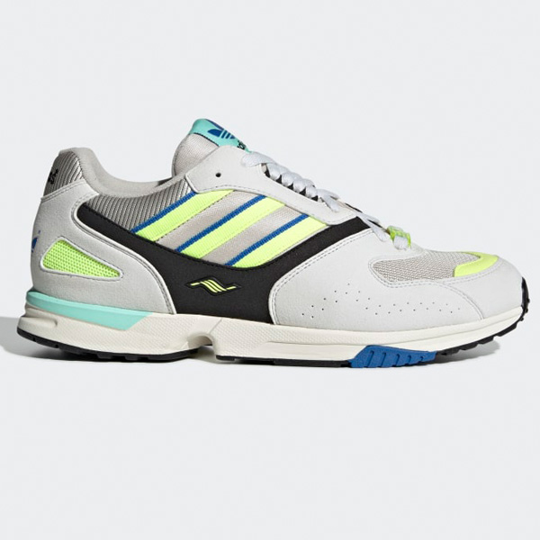 classic low price sale sale uk Adidas Originals ZX 4000 Schuhe Herren weiß/gelb G27899
