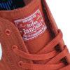 kupferfarbener Nike SB Stefan Janoski Stoffsticker auf der Zunge