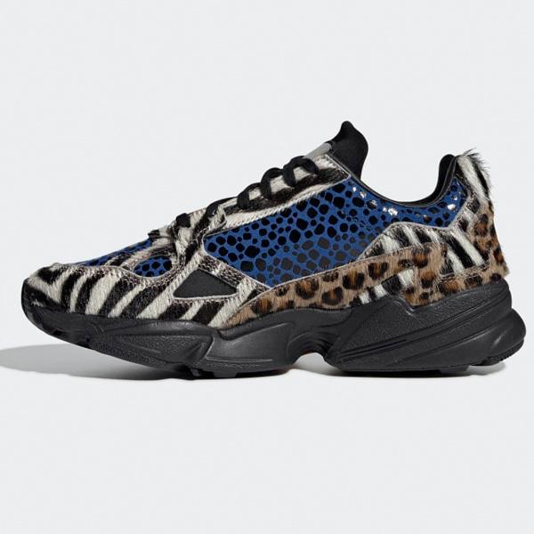 Adidas Originals Falcon Schuhe Damen animal print F37016