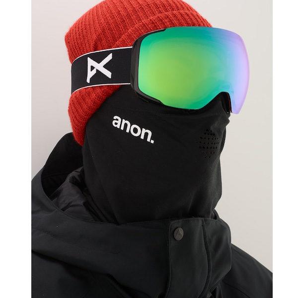 Anon M2 MFI Ski- und Snowboardbrille black sonar red Lens by Zeiss