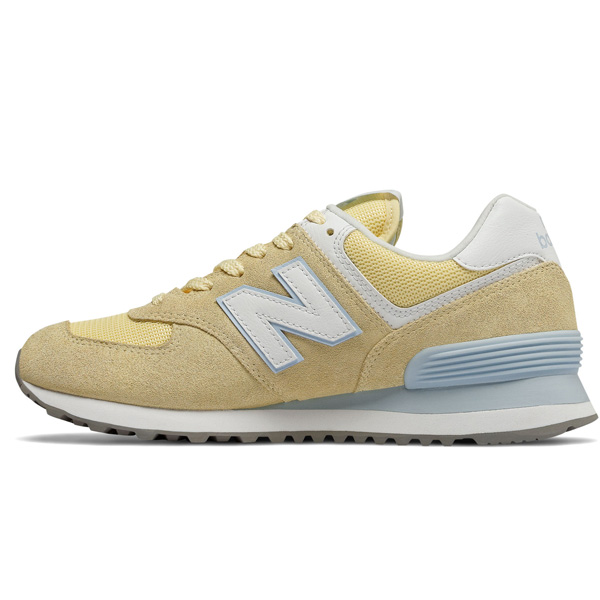 New Balance WL574 ESG Essential Lifestyle Damen gelb ...