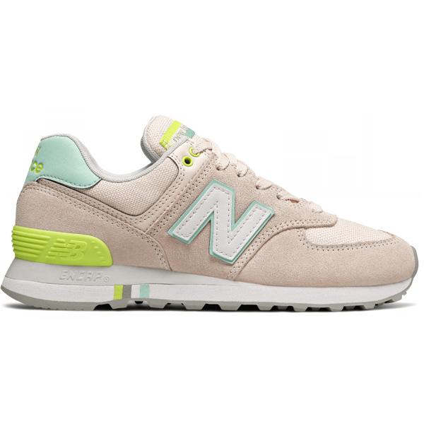 New Balance WL574 NSC Running Lifestyle Damen rose