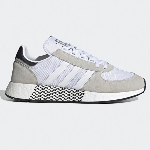 newest collection well known best authentic Adidas Originals Marathon Tech Herren Laufschuhe weiß EE4925