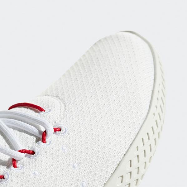 Details zu Adidas Pharrell Williams PW Tennis Primeknit Lifestyle Schuhe BD7530 weißrot