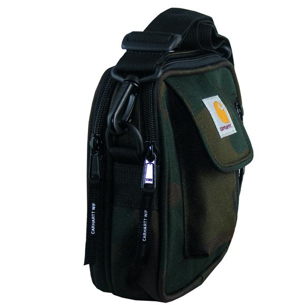 zwei Haupttaschen mit Zwei-Wege-Reißverschluss