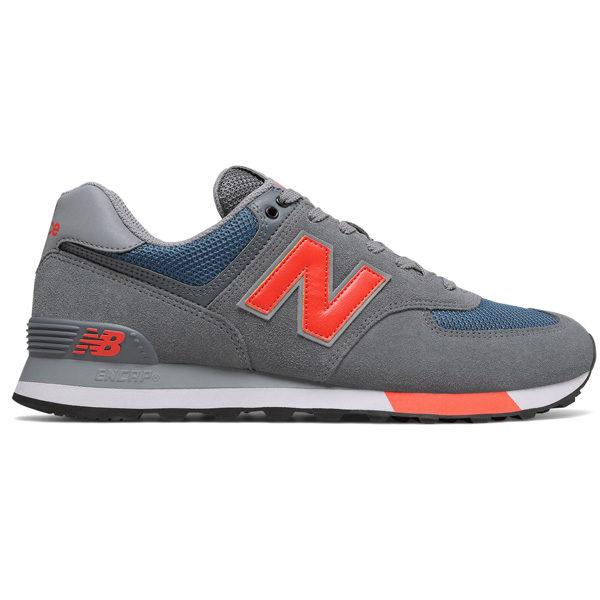 New Balance ML574 NFO Retro Classic Lifestyle Herren blau/rot