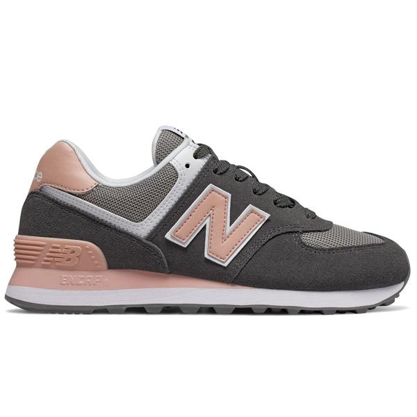 New Balance WL574 NDB Lifestyle Damen grau/rosa