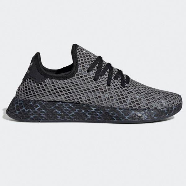 sports shoes e3354 abf93 Adidas Originals Deerupt Runner Herren Sport Schuhe Sneaker schwarz/weiß  EE5657