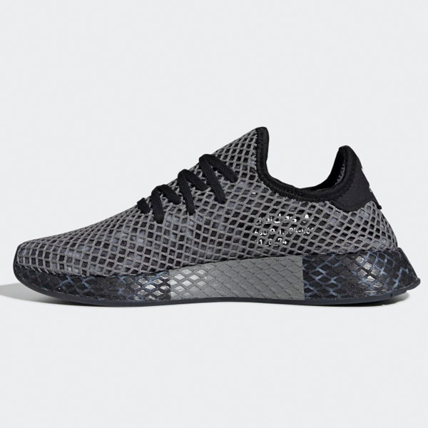 Adidas Originals Deerupt Runner Herren Sport Schuhe Sneaker schwarzweiß EE5657