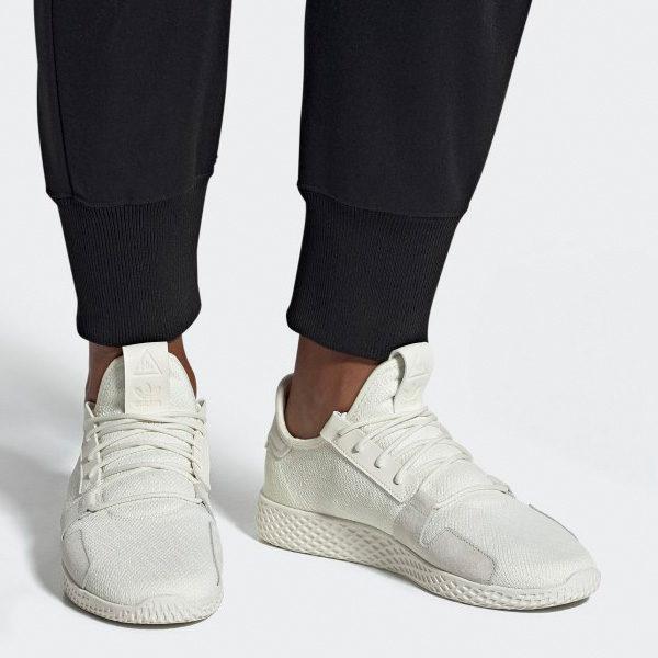 Adidas Pharrell Williams PW Tennis Human Originals Primeknit Herren Sport und Freizeit Schuhe 2019