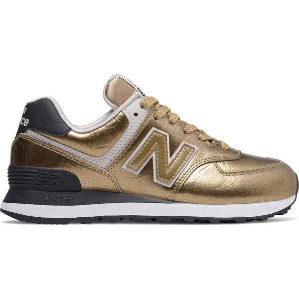New Balance WL574 WEP Damen gold