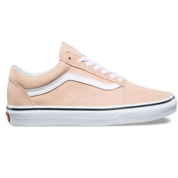 Vans Old Skool Skateschuhe Damen Sneaker ocker