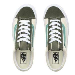zusätzlicher Lederpatch von Mittelfuß bis zur Schuhspitze