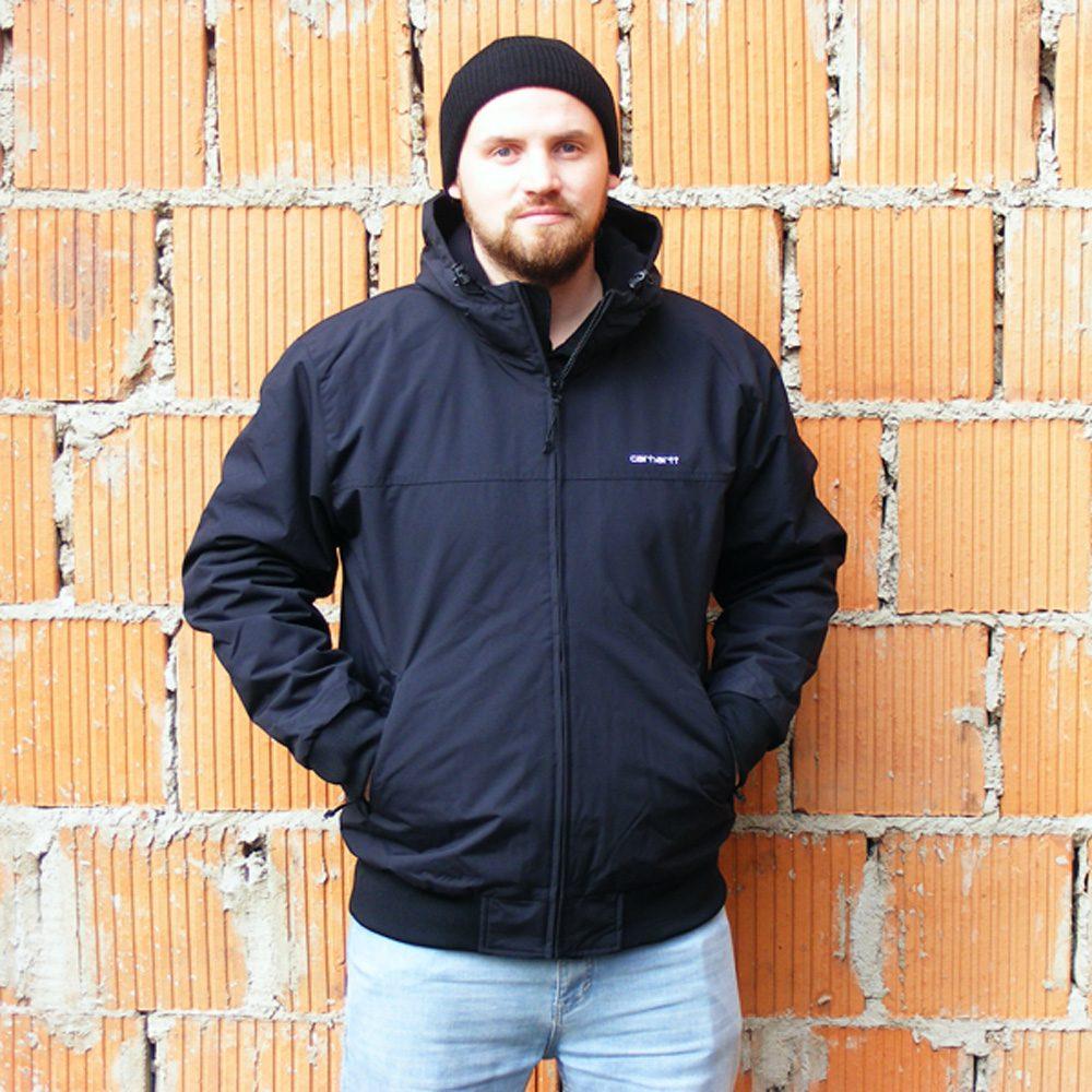 Carhartt WIP Sail Jacket Winterjacke Herren schwarz