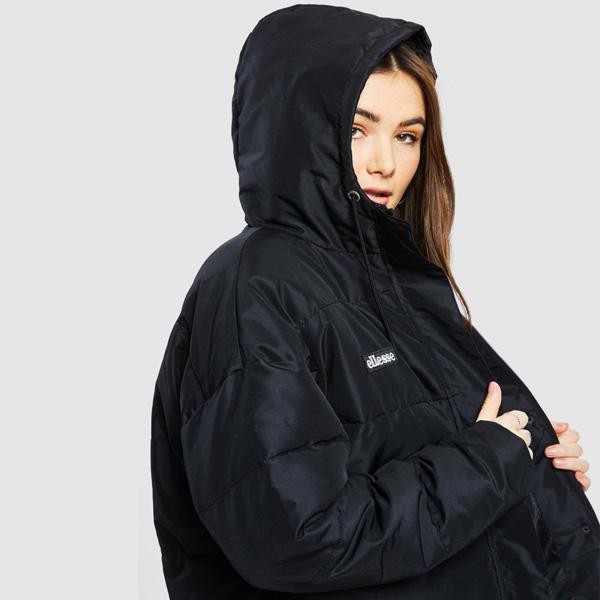Ellesse Pejo Herbst Winter Jacke Damen schwarz