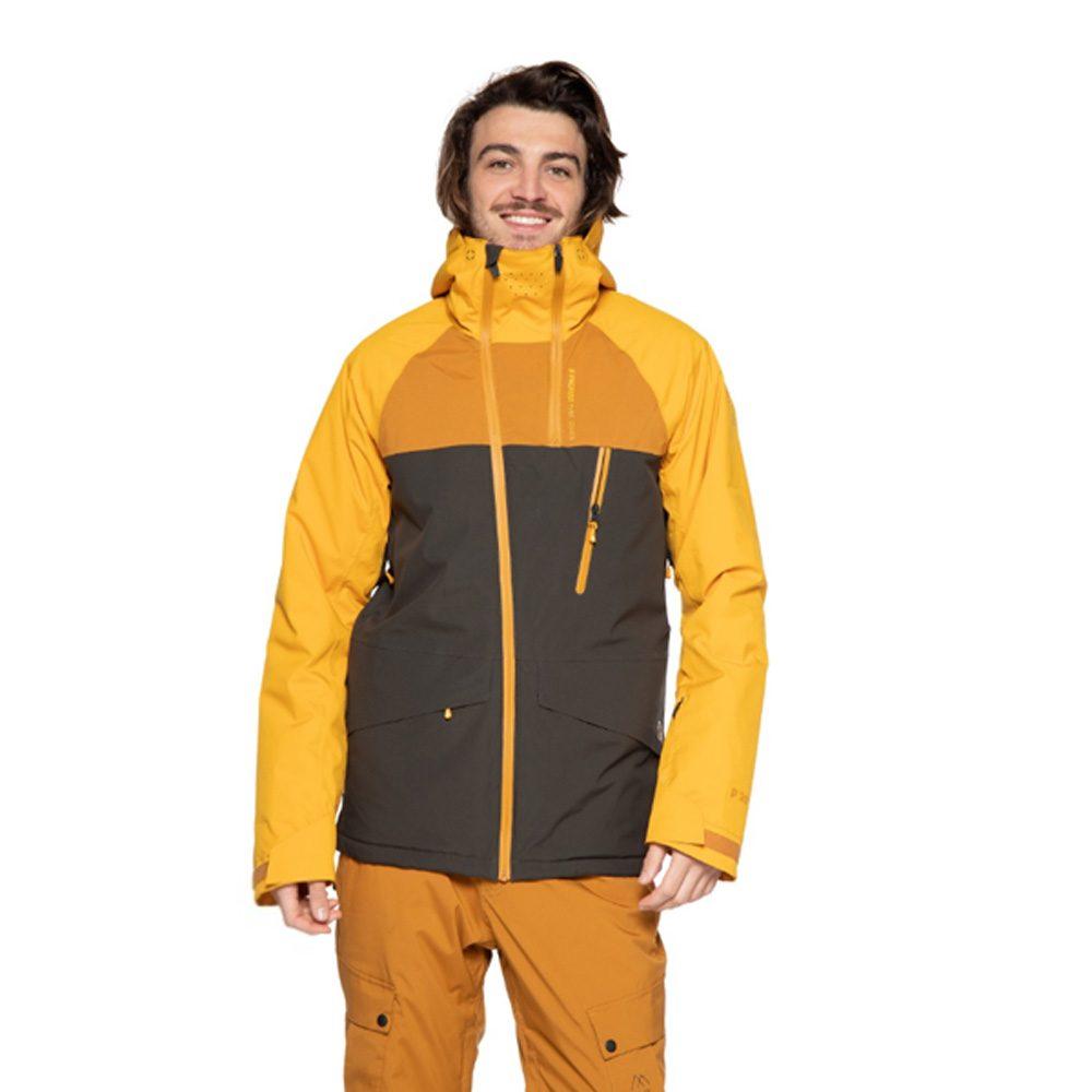 Protest Kikham Colurblock Herren Ski und Snowboardjacke 2019