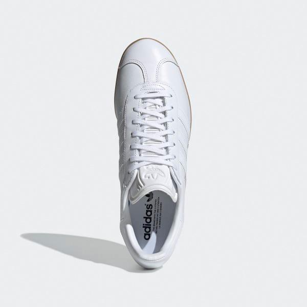 Adidas Gazelle Originals Retro Herren Laufschuhe weiß BD7479