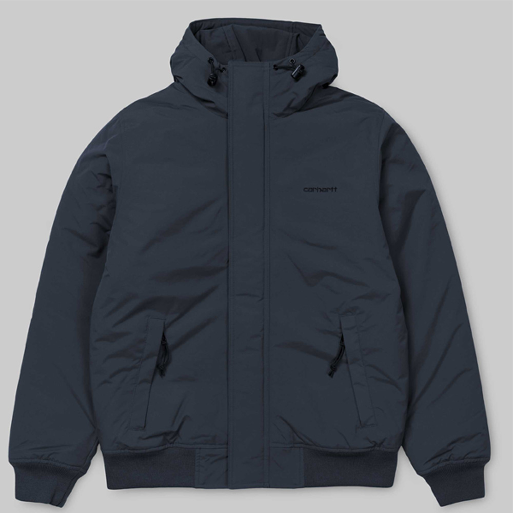 carharrt jacke blau schwarz