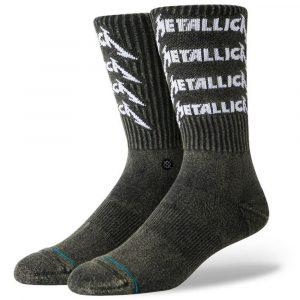 Stance Metallica Stack Crew Herren Socken 2019