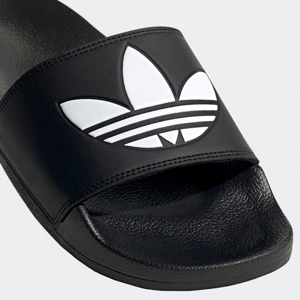 Adidas Originals Lite Adilette Badeschuhe Herren schwarzweiß FU8298