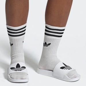 Adidas Originals Lite Adilette Herren Badeschuhe Freizeitsandalen