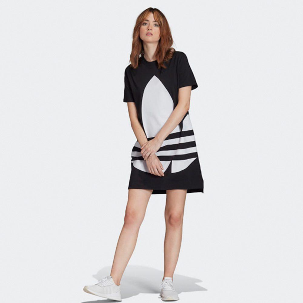 Adidas Originals Damen Logo T- Shirt Kleid 2019