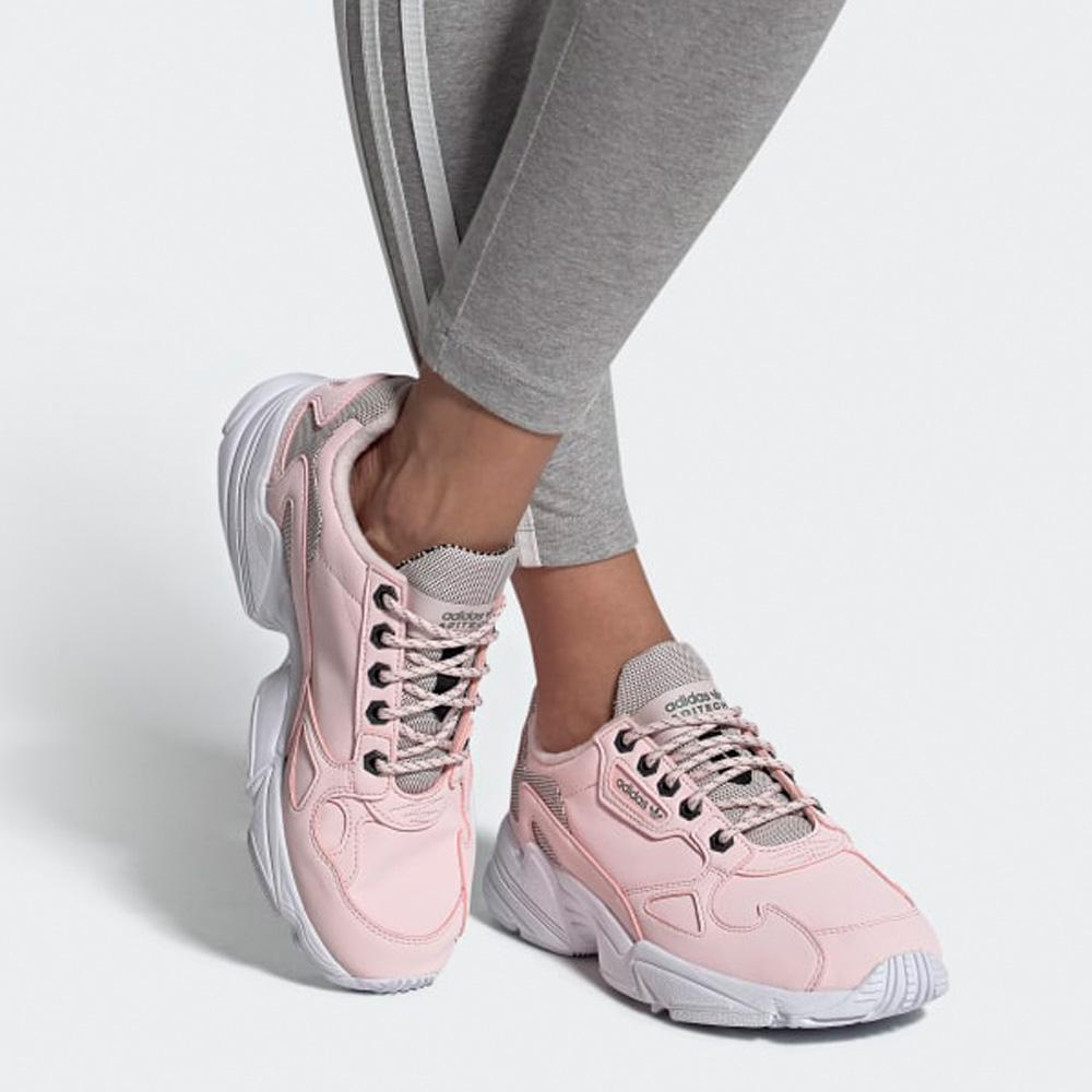 Adidas Originals Falcon Damen Streetstyle Sneaker rosa FV4660