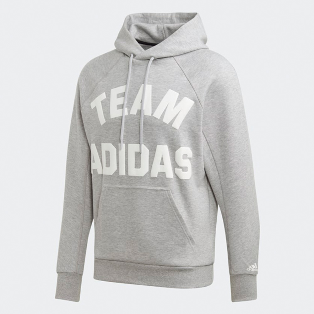 """Team adidas""- Print Grafik in weiß"
