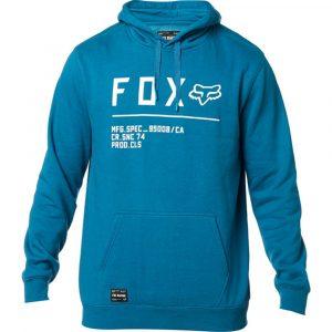 Fox Logo Schriftzug auf der Brust