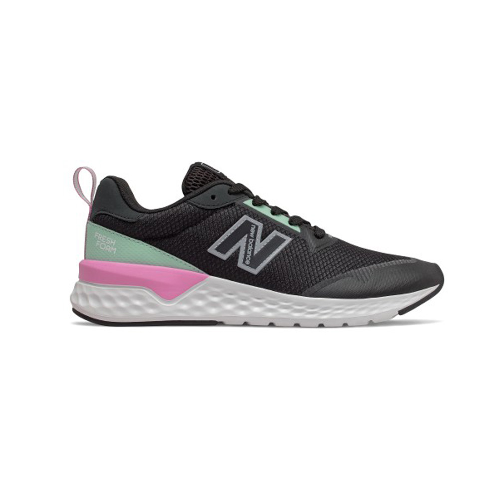 New Balance WS515 RA2 Lifestyle Laufschuhe Damen schwarz/rosa