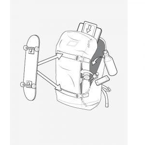 Skateboardcatcher Skate Trage Haltevorrichtungverschlusserweiterung