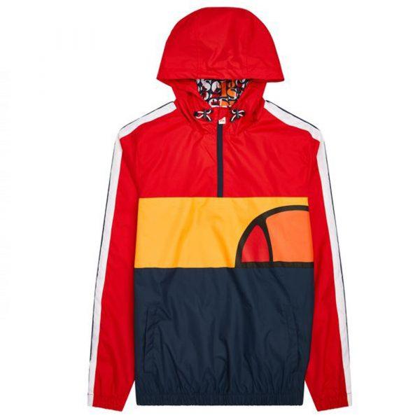 Ellesse El Agnolo Jacket Windbreaker Herren 2020 rot/schwarz