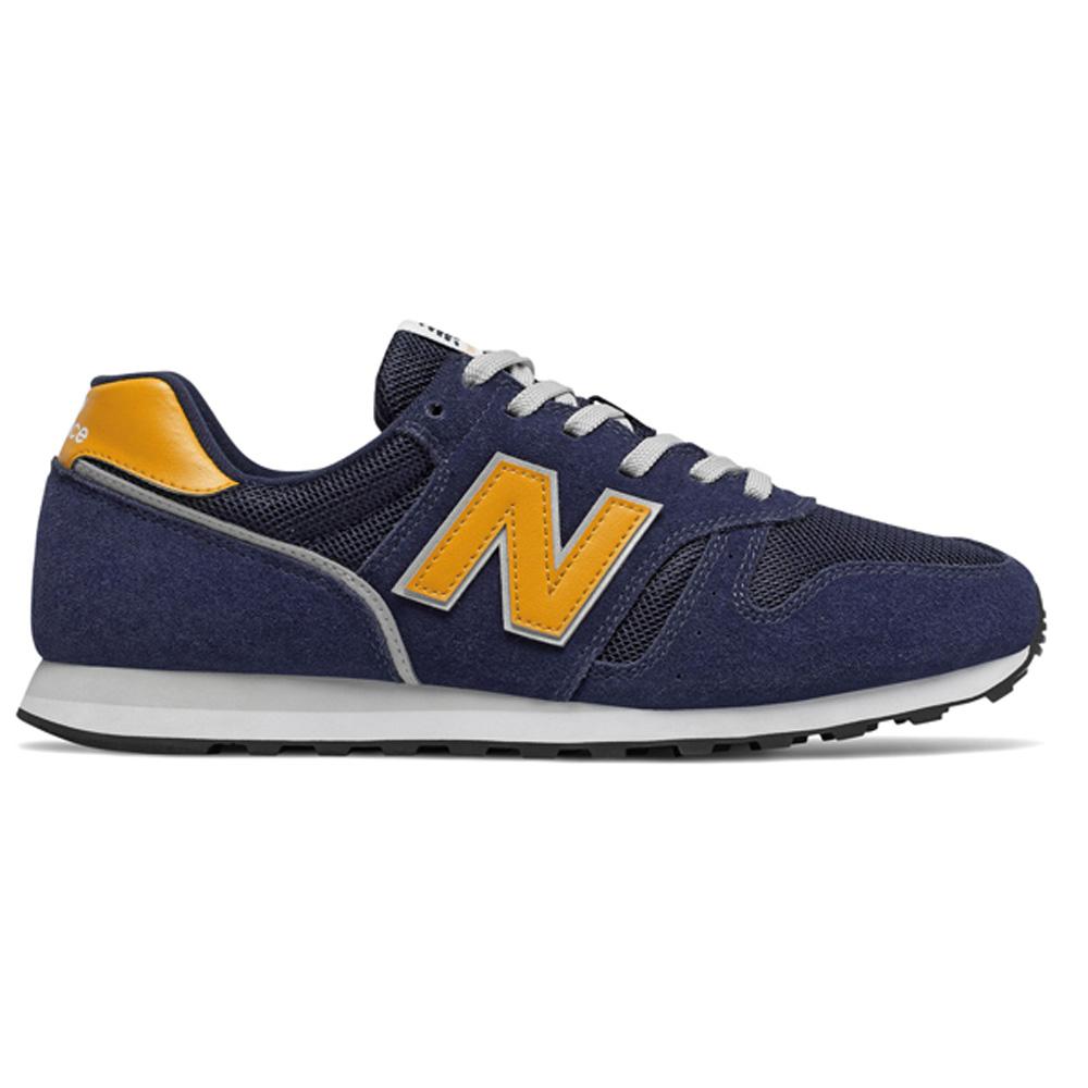 Details zu New Balance ML373 AA2 Herren blau/gelb