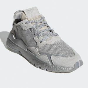 Adidas Nite Jogger Schuhe Damen grau/silber FW5466
