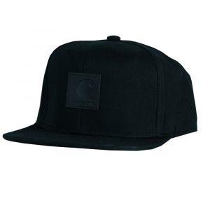 Carhartt WIP Logo Bi-Colored Snapback Cap schwarz