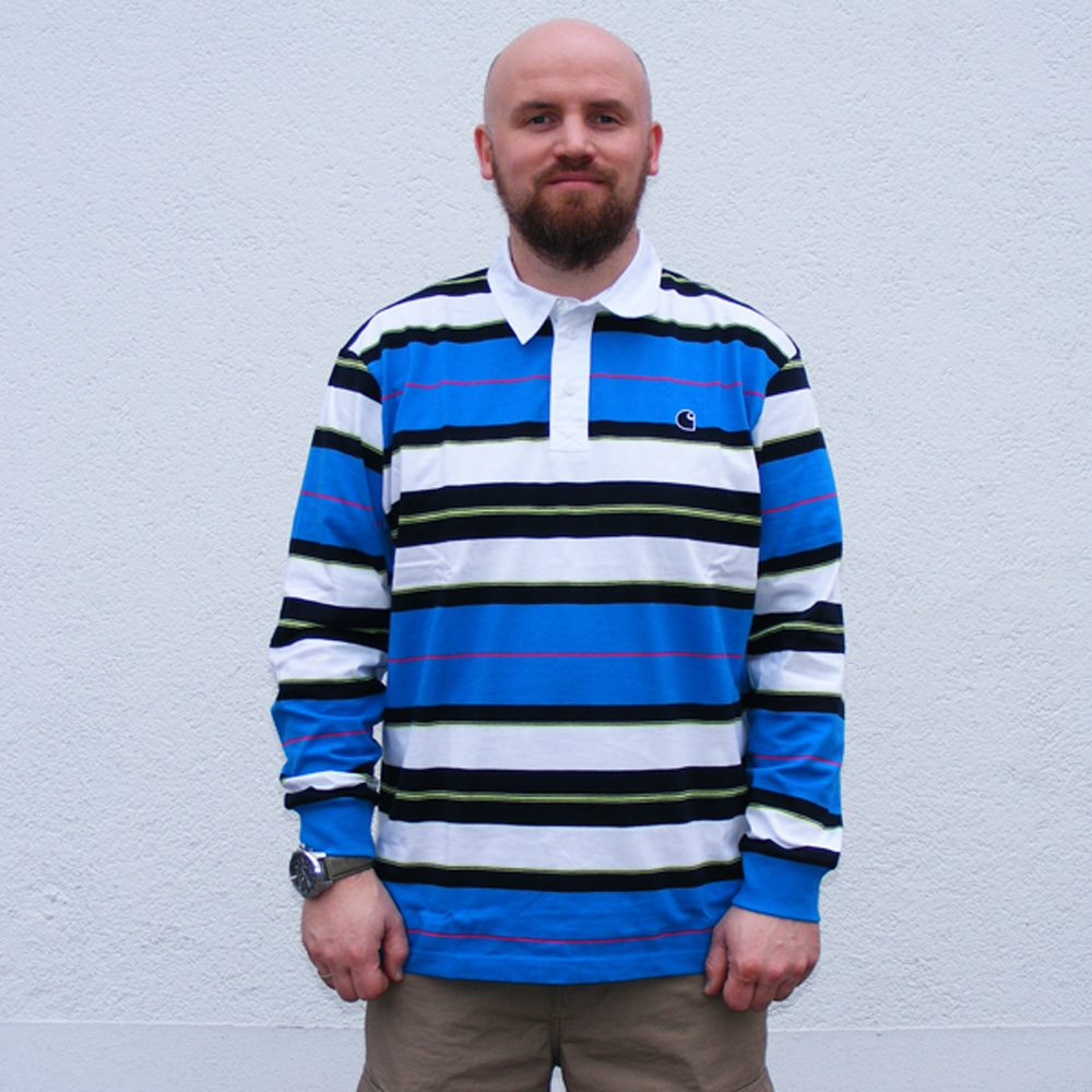 Carhartt WIP L/S Morgan Polo Herren Langarmhemd 2020