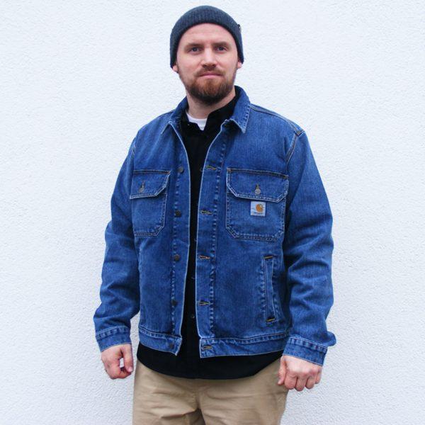 Carhartt WIP Stetson Jacket Herren Jeansjacke 2020