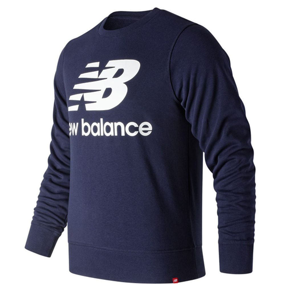 New Balance Essentials Stacked Logo Crew Sweat Herren Sweatshirt 2020
