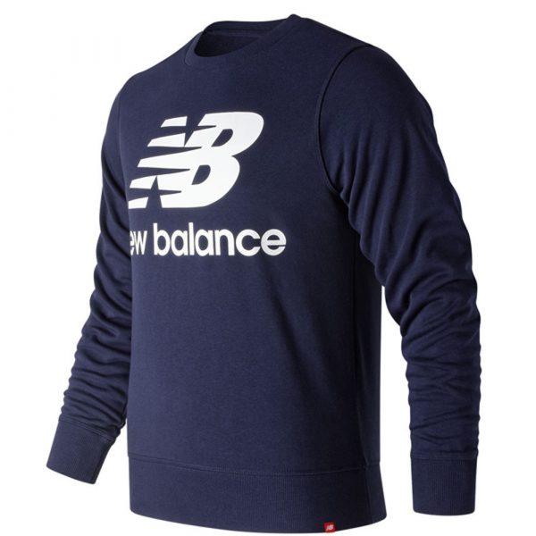 New Balance Essentials Stacked Logo Crew Sweat Herren Sweatshirt 2020