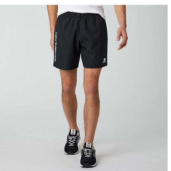 New Balance Athletics Wind Sport Short Herren schwarz
