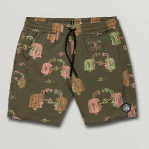 Volcom Alienated Trunk Herren Bade Short