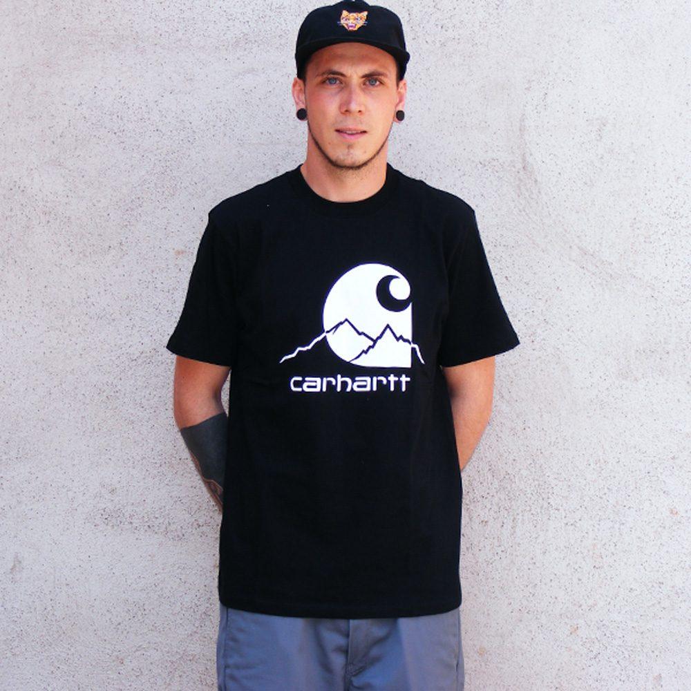 Carhartt WIP Outdoor Shirt Herren schwarz/weiss