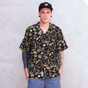 Carhartt WIP Paradise Shirt Herren Hemd gelb