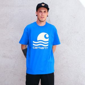 Carhartt WIP Swim Shirt Herren blau