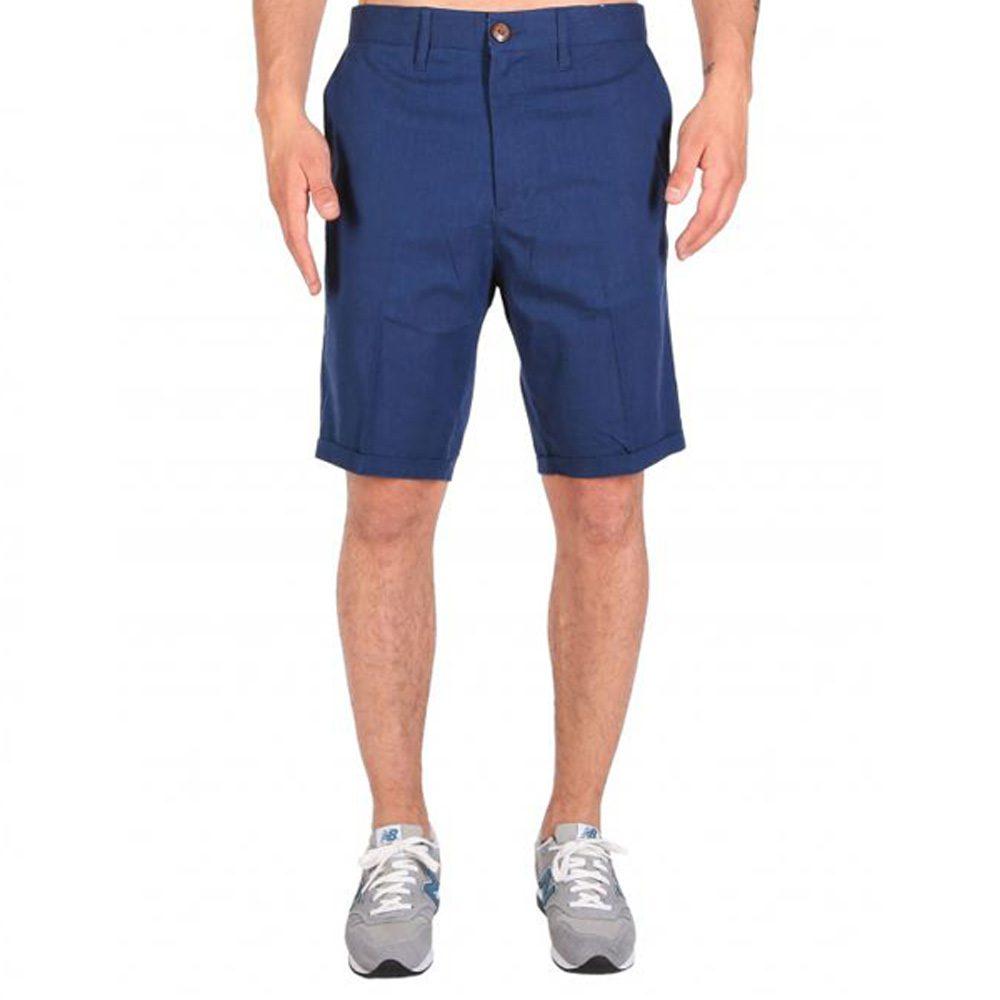 Iriedaily Golfer Chambray Short Herren blau