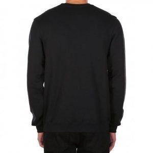 Iriedaily Mini Flag Crew Sweatshirt schwarz