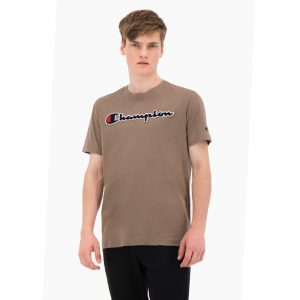 Champion Rundhals T- Shirt braun